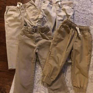 4 Pairs of Khaki Uniform Pants